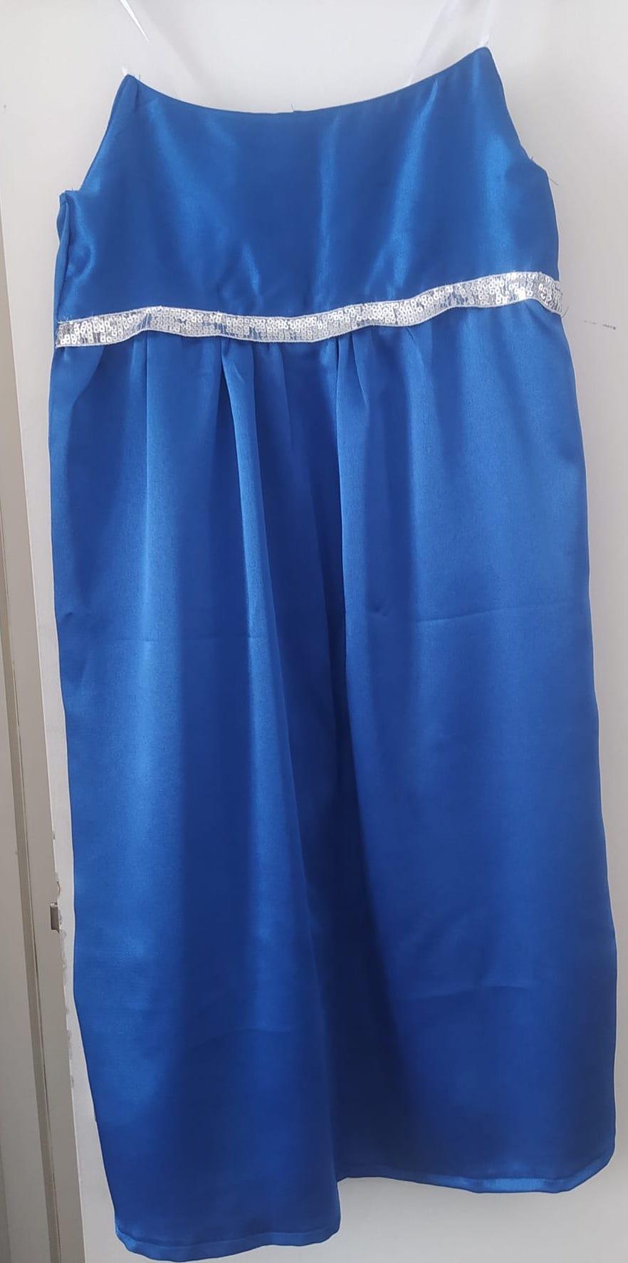 robe bleu membre enjoycouture
