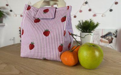 Tuto couture sac lunch – Patron gratuit
